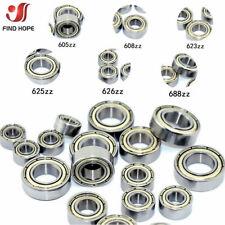 1/10pcs Deep Groove Ball Bearings 623/608/605/625/626/688zz High Speed Bearing