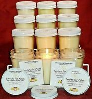 CASE: 12- 7 oz highly fragrant Soy Candles PLUS FREE GIFT (You choose fragrance)