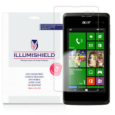 iLLumiShield Screen Protector w Anti-Bubble/Print 3x for Acer Liquid M220