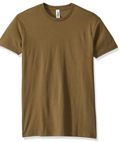 Marky G Apparel Men's Cotton Crew Military Green Size XS NWT