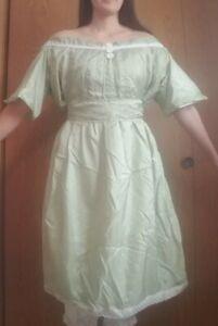 Opal Earth Nightgown Avatar Legend of Korra Custom Cosplay Costume Size L/XL