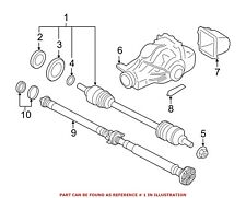 For BMW Genuine CV Axle Assembly Rear Left 33207598037