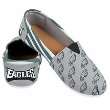 Philadelphia Eagles Women's Canvas Stripe Shoes M