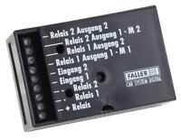 Faller 161659 Car-System Spur H0,N Relaismodul #NEU in OVP##