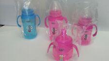 Lot of 4x Adiri Baby Bottle Sippy Cup BPA Free, 10oz - 8oz - 6.8oz
