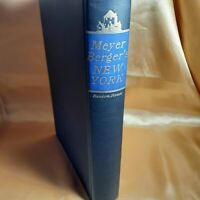 Berger ~ MEYER BERGER'S NEW YORK ~ Superb Condition ~ CITY MEMORIES OF THE 1950s