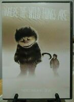 """Spike Jonze """"Where the Wild Things Are"""" (DVD, 2010) w/ Insert *FANTASY Monsters*"""