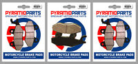 Front & Rear Brake Pads (3 Pairs) for Yamaha XTZ 750 Super Tenere 89-95