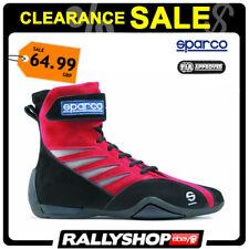 Sparco Shark FIA Shoes, rouge Taille 38 sport Racewear Course Kart Drive Bottes vente