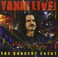 YANNI LIVE The Concert Event * NEW Sealed CD with Bonus Track (2006)