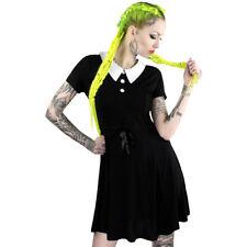 Killstar Gothic Goth Okkult Punk Wiccan Minikleid Kleid - Doll Addams Dress