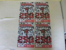 DEADPOOL # 45 (ISSUE 250) - (2012 SERIES) - DEATH OF DEADPOOL - LOT OF 4 - NM-