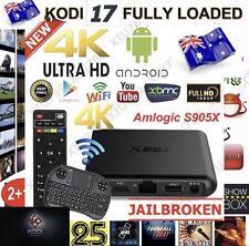 T95X 1/8GB ANDROID 6 TV BOX GENESIS KODI 17.3 KEYBOARD IPTV WIFI AUS STOCK