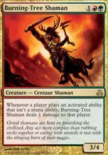 MTG Burning-Tree Shaman, Light Play, English, Guildpact X1