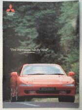 MITSUBISHI 3000 GT ORIG 1992 UK MKT Opuscolo Vendite - 3000GT GTO