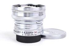 EX+ Rare Zunow Opt Japan 50mm f/1.1 LTM original Leica L39 Teikoku Kogaku Silver