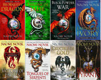 TEMERAIRE BOOK SET VOLUMES 1-8 BY NAOMI NOVIK FANTASY MASS MARKET PAPERBACK NEW!