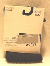 Hue cable tights w/control top Size S/M Black