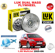 FOR FIAT GRANDE PUNTO 1.9 D MultiJet 2005-ON ORIGINAL LUK DMF DUAL MASS FLYWHEEL