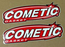 Cosmetic Gasket 2 Stickers lot motorcycles Dragbike Motocross Racing Drag Bike
