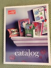 2001-2002 Stampin' Up! Idea Book Catalog Rubber Stamps Scrapbooking Cards.