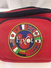 Disney Parks Mickey Epcot Red Hip Fanny Pack Disneyland Rare