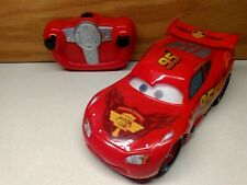 Disney Pixar THINKWAY TOYS LIGHTNING MCQUEEN REMOTE CONTROL RC CAR