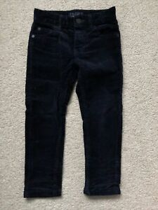 Boys Next Navy Cord Trousers Age 3 Yrs