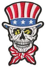 Patch écusson brodé patche thermocollant Dead Uncle Sam medium
