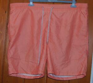 "Kirkland, Men's, Orange Stripes, Swimming Shorts, TRunks, size L (34-36"")"