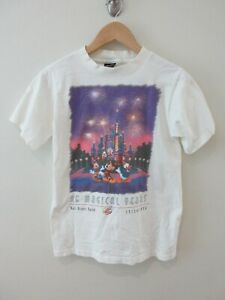 Disney World Anniversary Mens T Shirt Size S 25 Years Single Stitch Vintage Rare