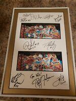 1998 Tennessee Volunteers 11 fiesta bowl autographed  Lewis Hall Martin Fulmer