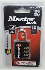 Master Lock - TSA Combination Lock - 4680DBLK- Brand New!