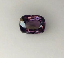 Large Cushion Cut Rich Purple Burmese Spinel Gemstone Natural 1.90 Carat