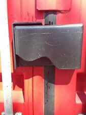 Shipping Container Lock Box - Cargo Container Lock Box - Free Padlock & Shipping