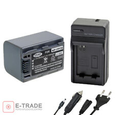 NP-FP70 2500mAh Battery or charger for Sony DCR-DVD92 DCR-HC96 NP-FP60 NP-FP70