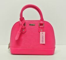 Boxing Now  Women  Satchel Shoulder Hobo Tote plum hot pink Bag Shell Shape