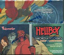 Hellboy Animated Factory Sealed Hobby Box 36 Packs