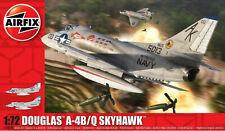 Airfix Douglas A-4B/Q Skyhawk 1:72 Scale Plastic Model Plane Kit A03029A