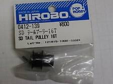 0412-139 Hirobo RC Helicopter Sceadu  SD Tail Pulley 16T New In Package 0412139