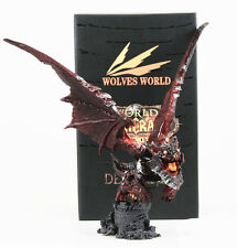 WOW World Of Warcraft Cataclysm Deathwing Toy Figure Figurine Statue Doll LCF