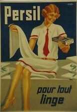 Original Plakat - Persil pour tout linge