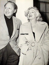 MARILYN MONROE PIN-UP POSTER TOUGH TO FIND PHOTO WITH JACK BENNY AFTER TV SHOW!!