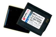 BATTERIA per LG ELECTRONICS U880 NERA 1000mAh Li-ion