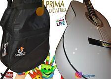 Chitarra Classica 3/4 Prima Didattika Colore Bianca Con Borsa Bespeco