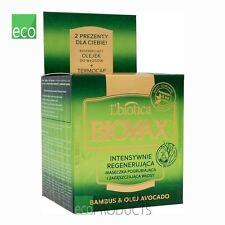 L'Biotica Biovax Natural Intensive Repair Hair Mask Bamboo & Avocado Oil 250ml