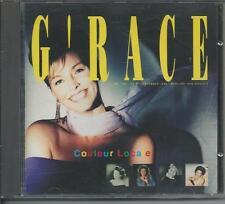 G'RACE - Coleur Locale CD Album 11TR WEST GERMANY 1988 (MERCURY) Synth-Pop