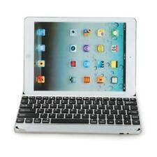 Ultra Slim Aluminium Wireless Bluetooth Keyboard With Case for iPad Air 2