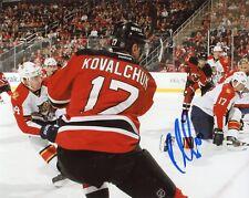 """~~ ILYA KOVALCHUK Authentic Hand-Signed """"NEW JERSEY DEVILS"""" 8x10 Photo ~~"""