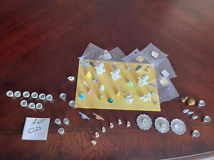 dollhouse miniatures  Mixed lot Of Pewter accessories, Vintage
